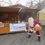 Stand artisanat au marché de Noël à Tours