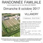 Randonnée Pédestre à Villandry (37) suivi d'un repas chaud le 8 octobre prochain