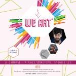 WE ART à Lille le 21 Février prochain