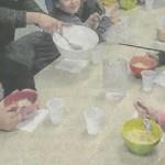 Action Bol de riz à l'école St Pierre en Vendée