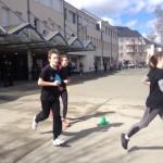 Challenge humanitaire au collège St Laud (49) le 30 mars dernier