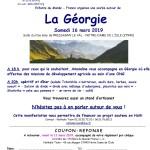 Soirée en Normandie sur le thème de la Géorgie le 16 Mars