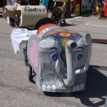 Manche du championnat de France de voitures à pédales au profit d'EdMF dans le Doubs