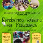 Rando solidaire à Pouzauges en Vendée